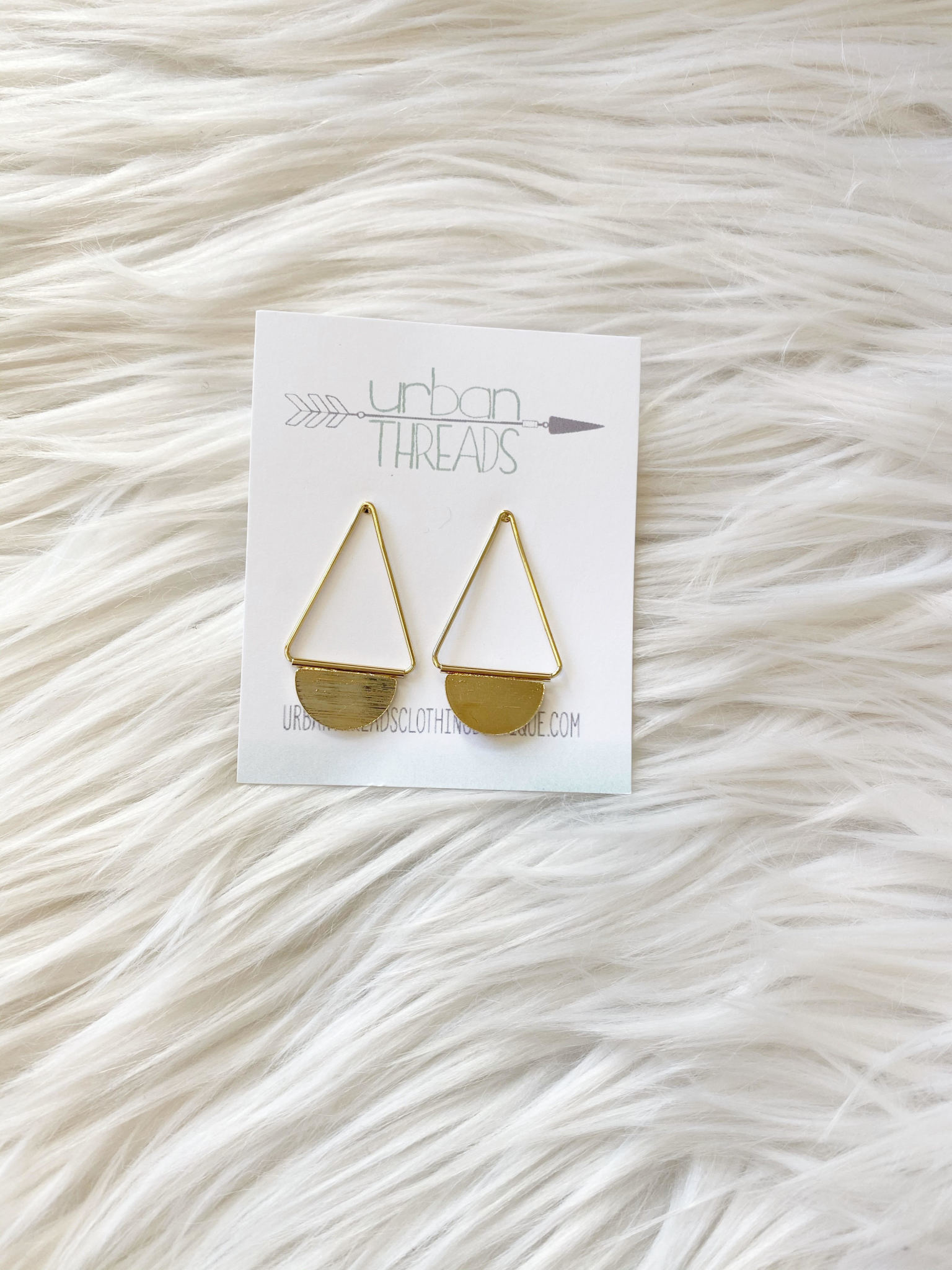 Mila Gold Earrings