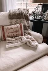 Animal Print Sherpa Blanket