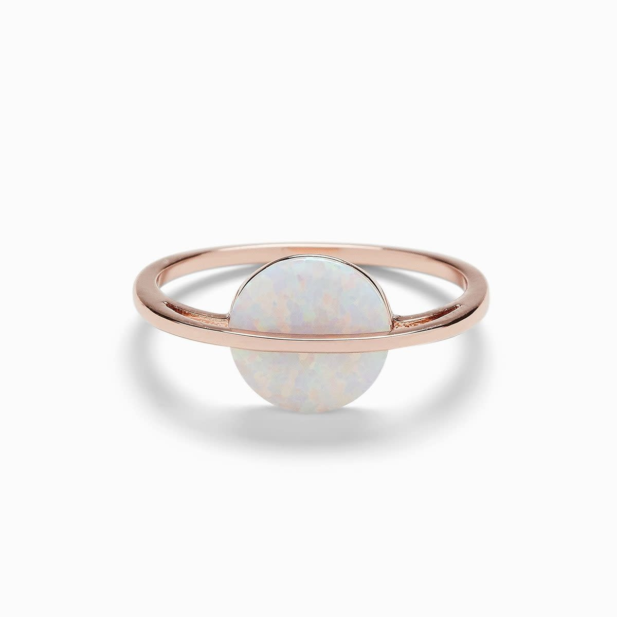 PuraVida Opal Saturn Ring
