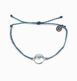 PuraVida Twin Peaks Dusty Blue Bracelet