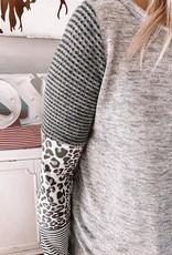 Parker Leopard Detail Top