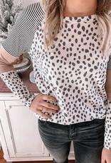 Parker Leopard Blush Top