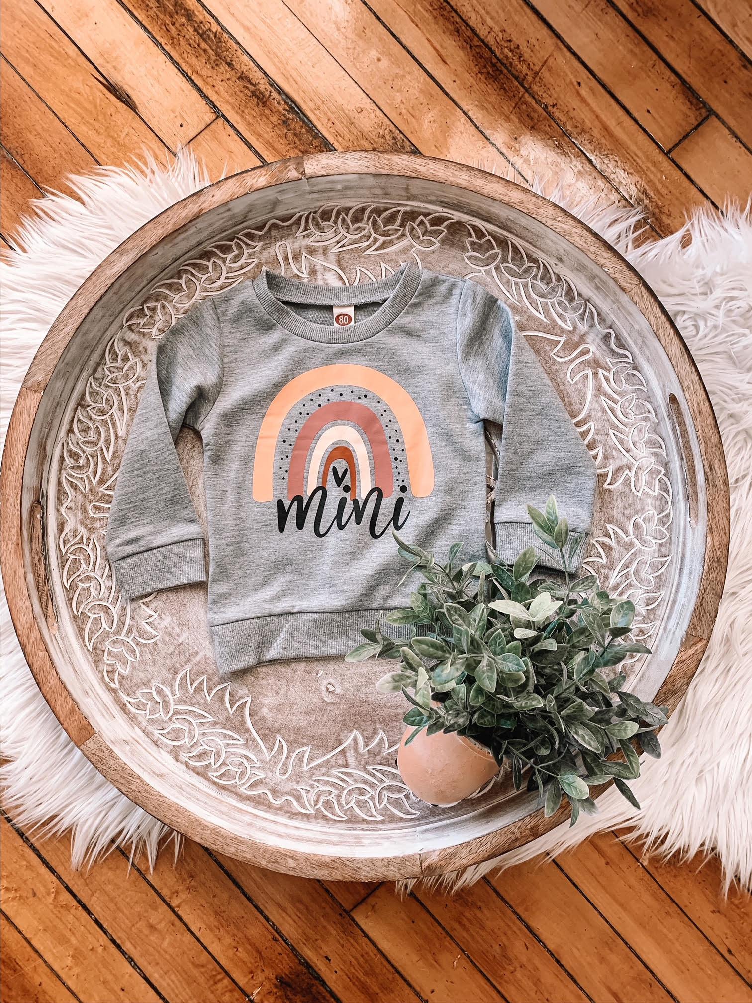 Mini Rainbow Sweatshirt