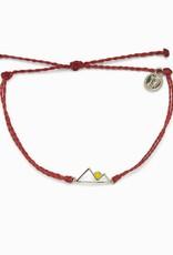 PuraVida Rising Sun Dark Red Bracelet