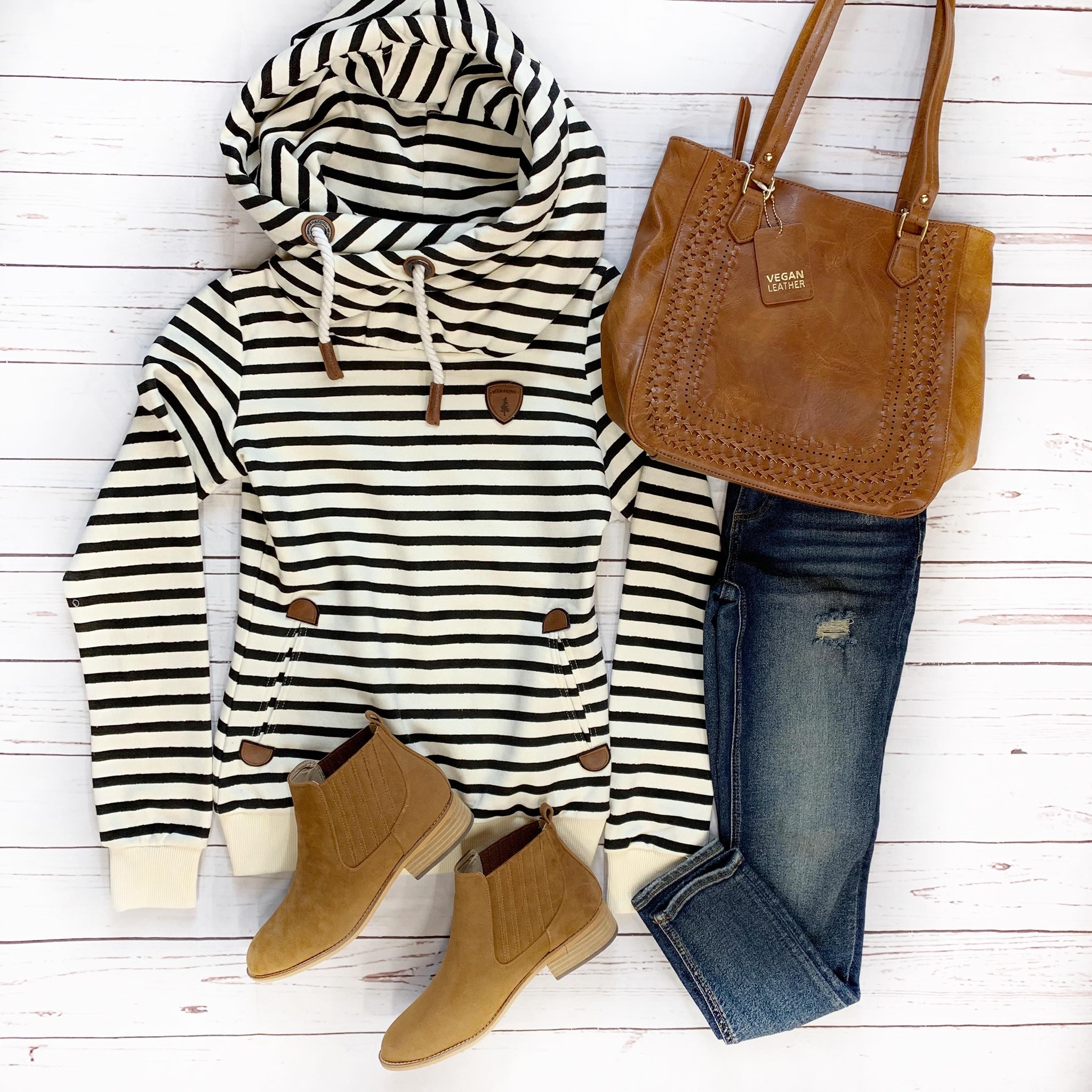 Striped Wanakome Pullover