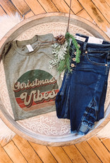 Retro Christmas Vibes Tee