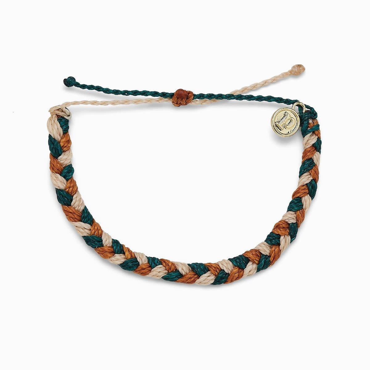 PuraVida Peak Braided Bracelet