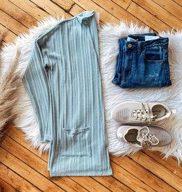 Mint Knit Cardigan