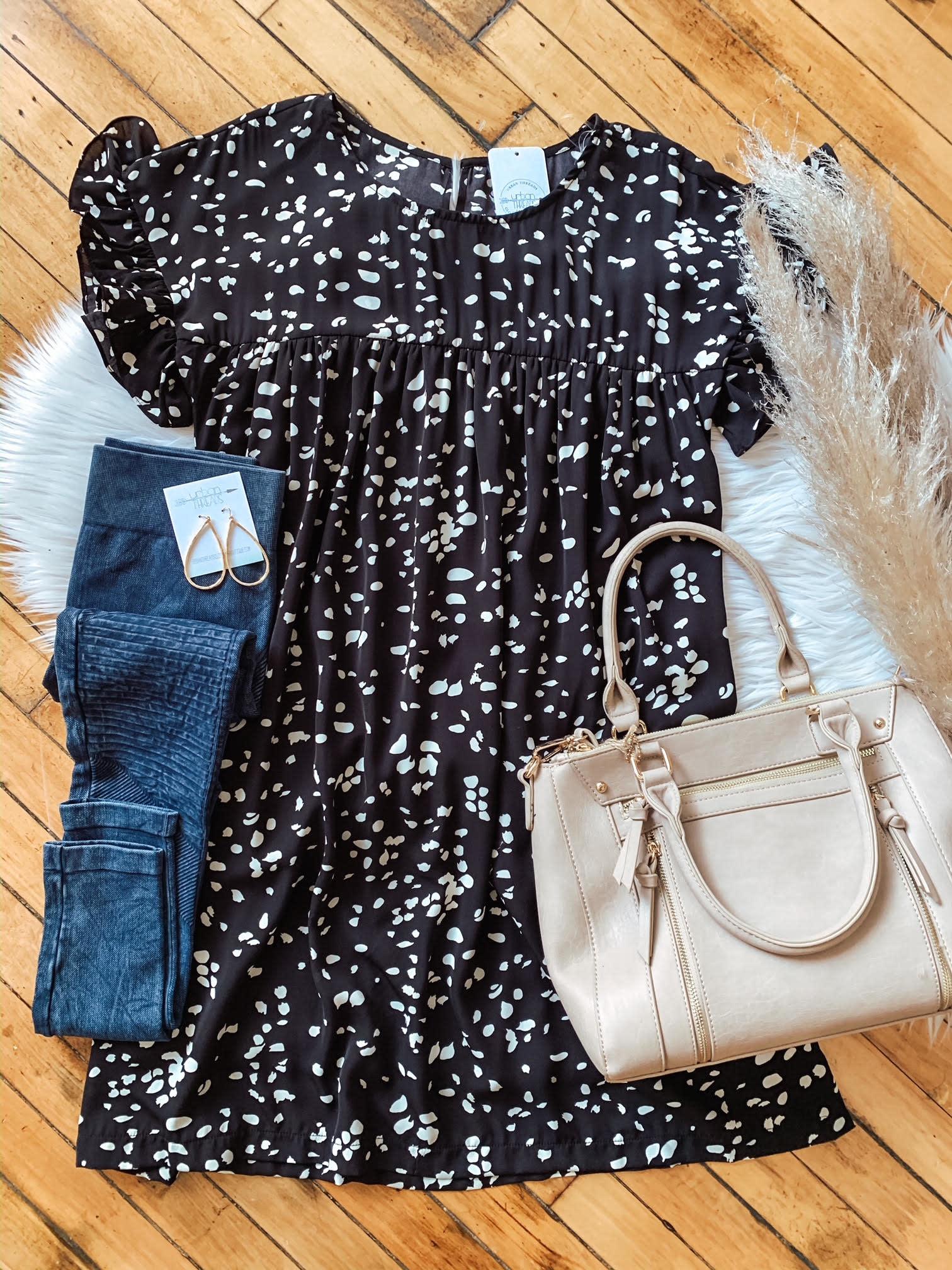 Jenna Babydoll Dress