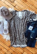 Kylie Grey Leopard Top