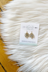 Molly Gold Statement Earrings