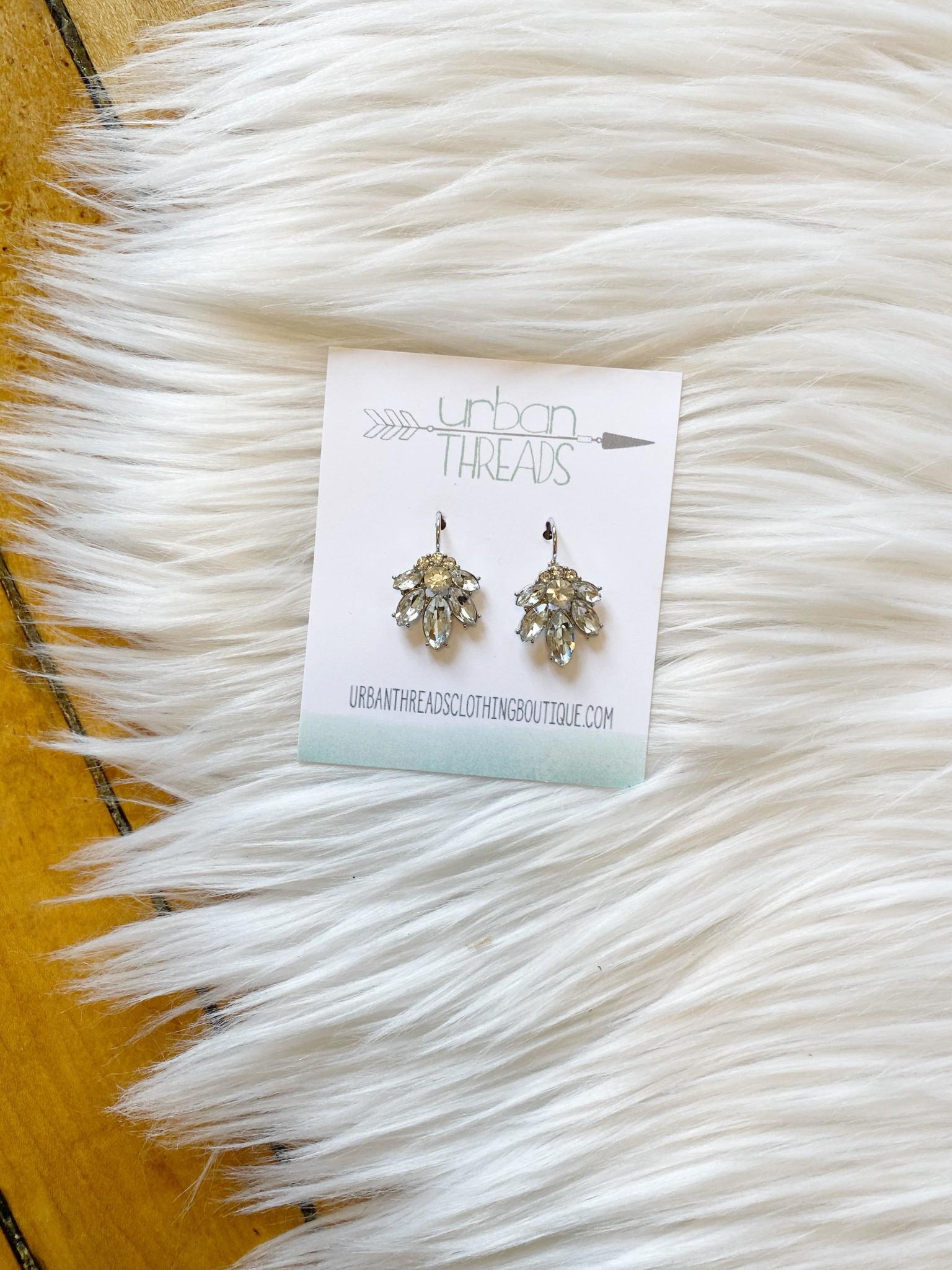 Molly Silver Statement Earrings