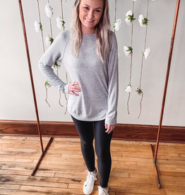 Gray Bronwyn Long Sleeve