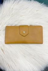 Quinn Mustard Wallet