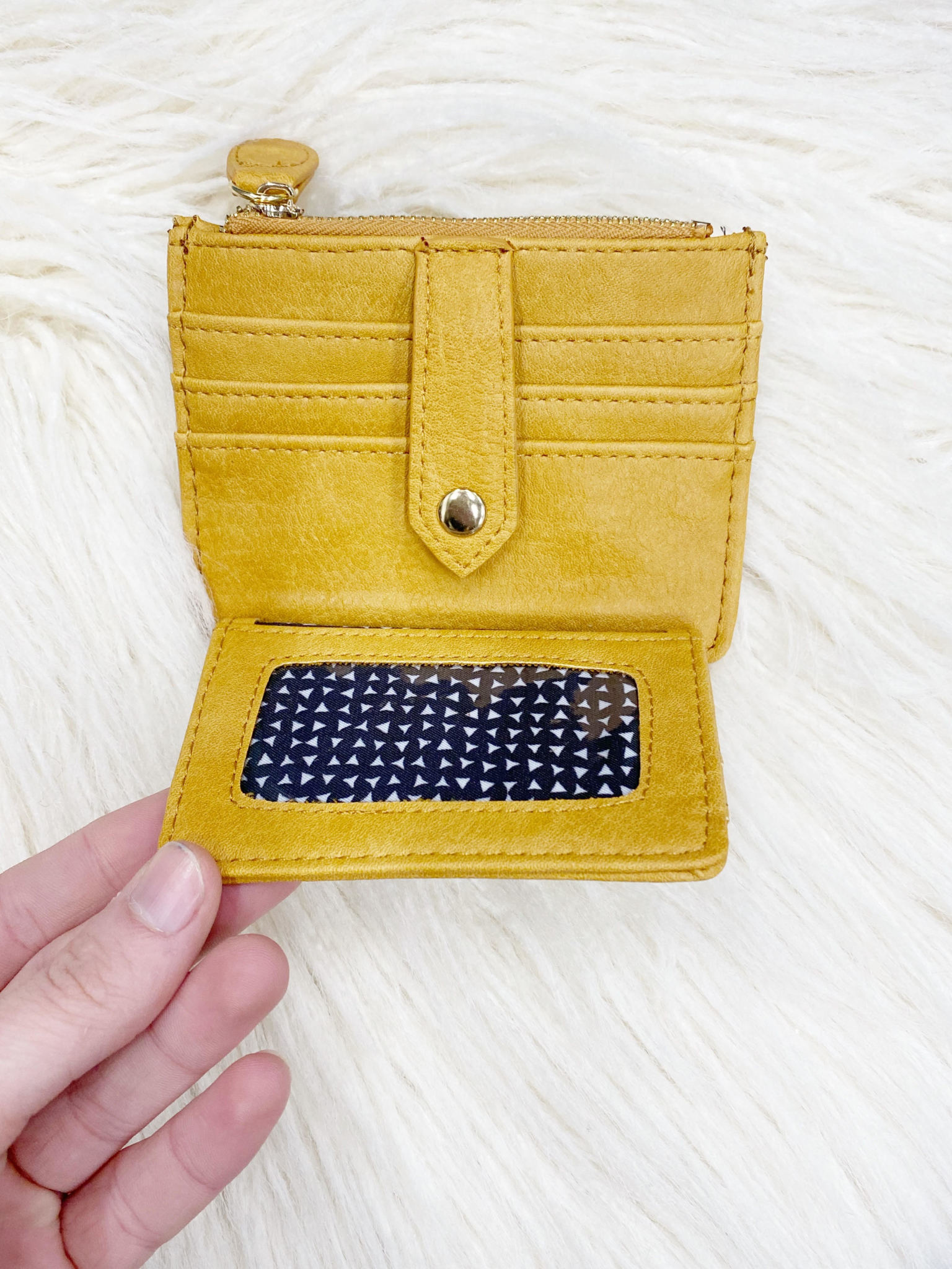 Madeline Mustard Wallet