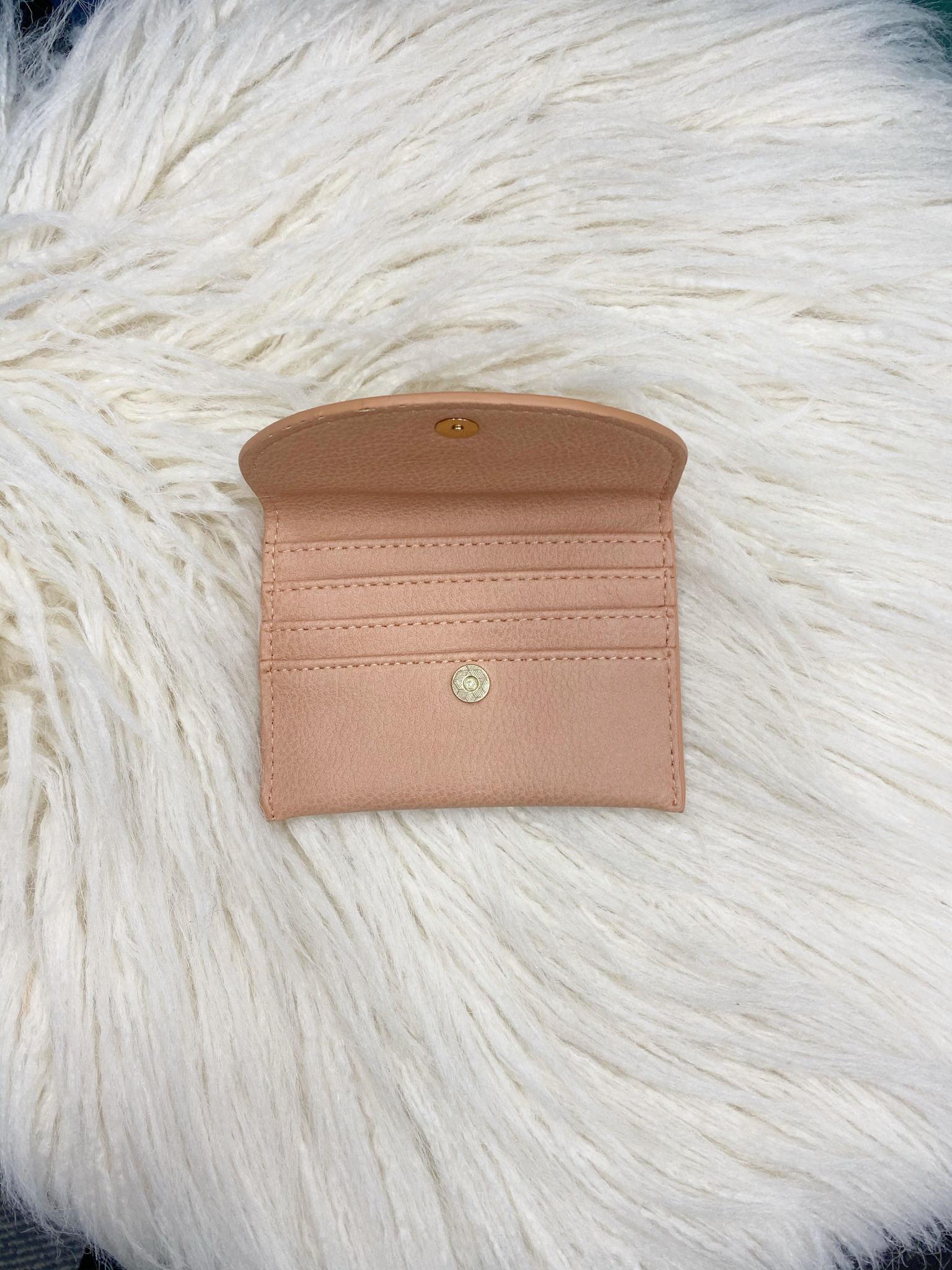 Peach Envelope Wallet