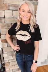 XOXO Lips Graphic Tee