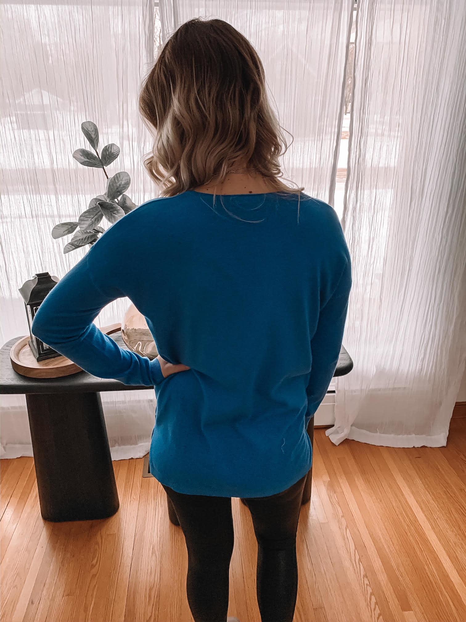 Emma Royal Blue Sweater