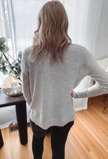 Alexis Light Grey Sweater