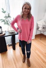 Emma Bubblegum Pink Sweater