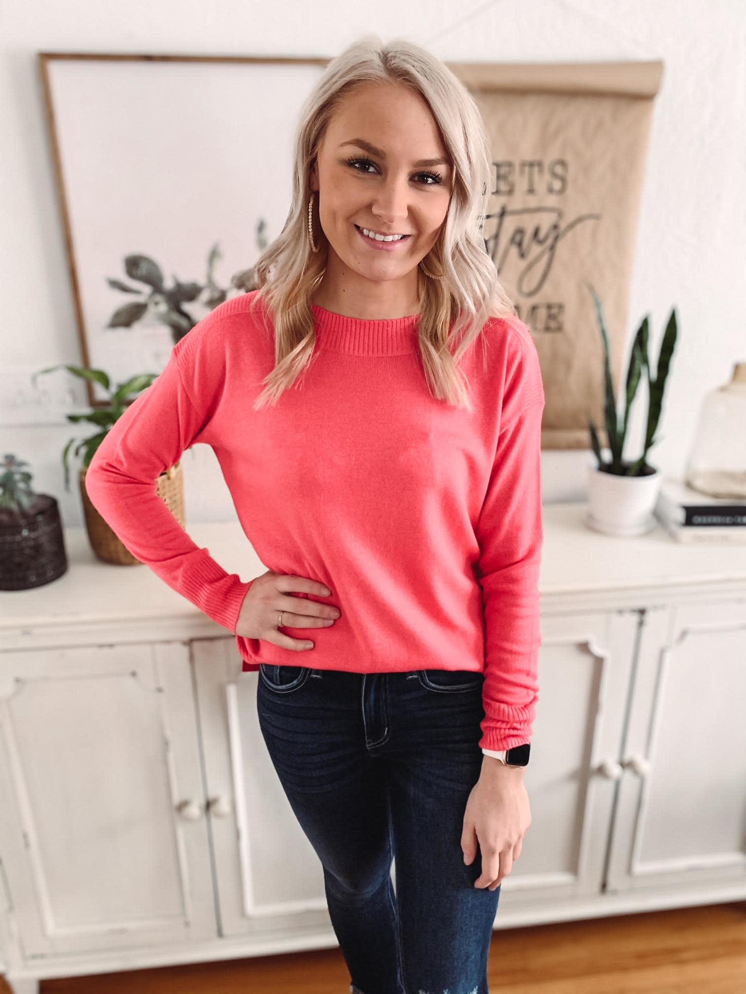 Alexis Light Pink Sweater