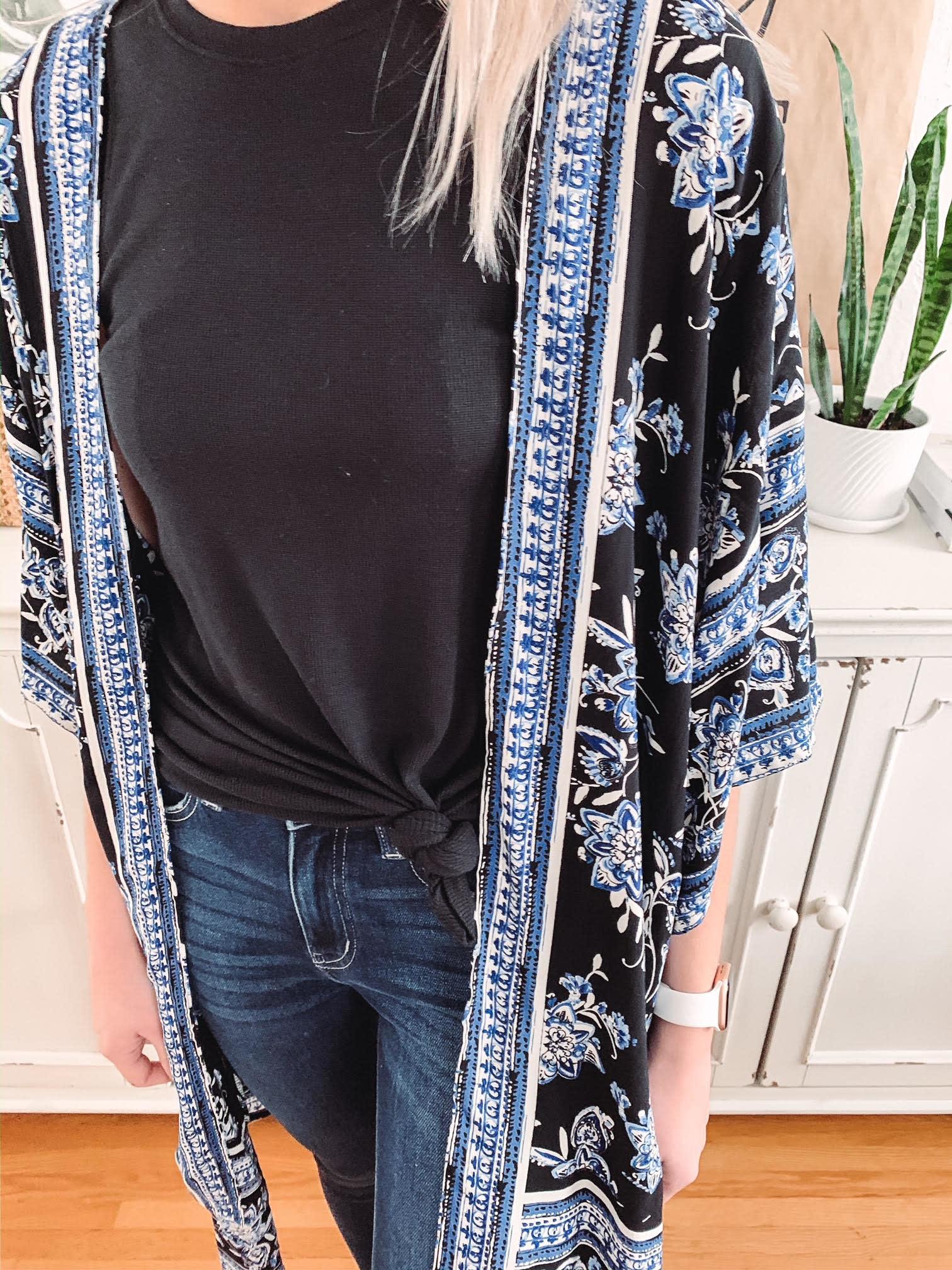 Laiken Blue Kimono