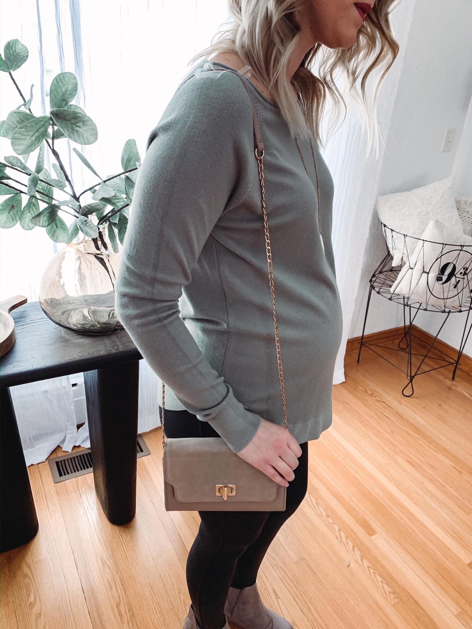 Hallie Light Olive Sweater