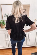 Stella Swiss Dot Blouse