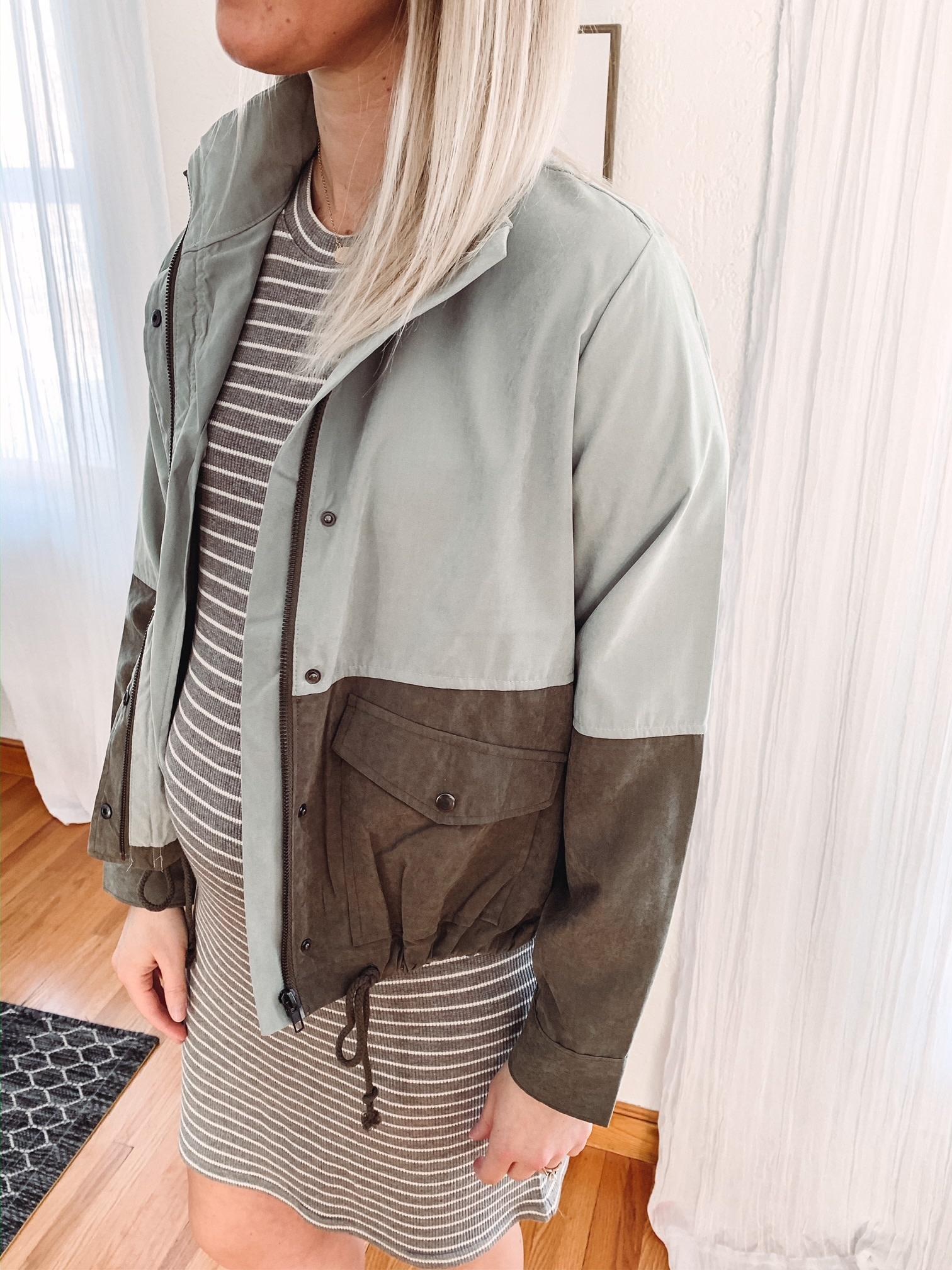 Sutton Color Block Jacket