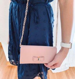 Nora Mauve Crossbody + Wallet