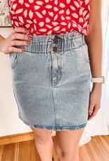 Trish Light Denim Skirt