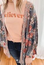 Susie Dove Floral Kimono