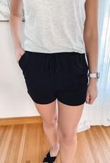 Kirsten Black Terry Shorts