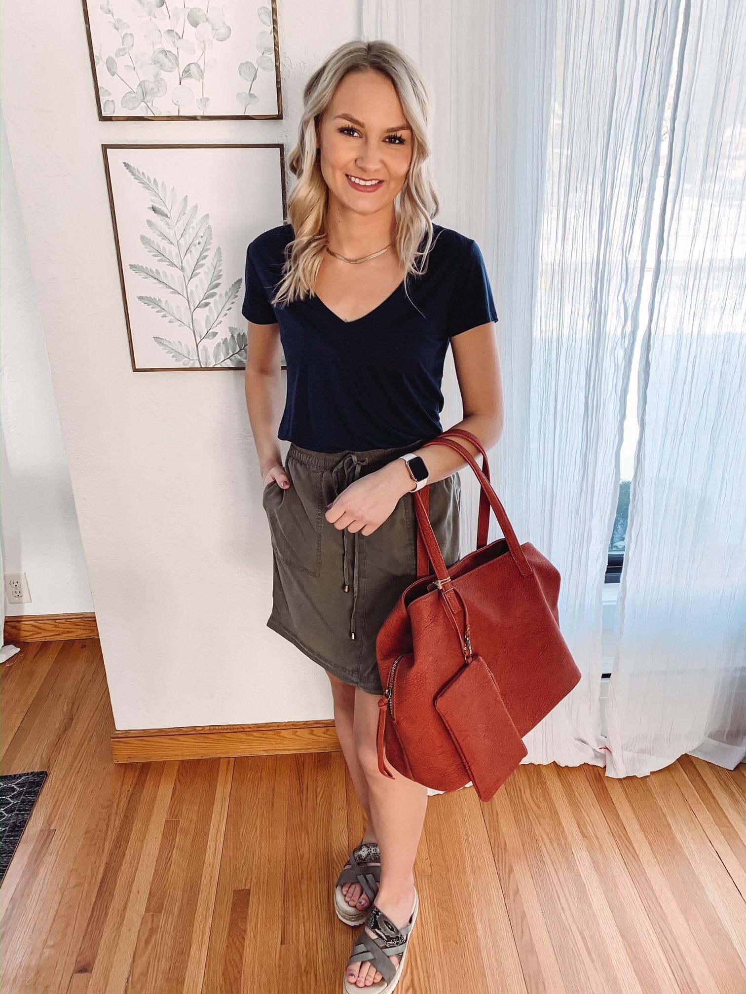 Madison Clay Bag + Wristlet