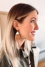 Olivia Cork Teardrop Earrings