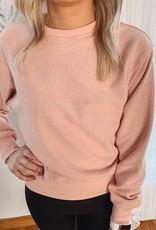 Taryn Blush Sweatshirt