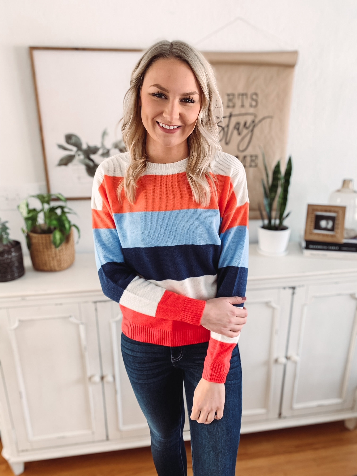 Emmy Striped Sweater