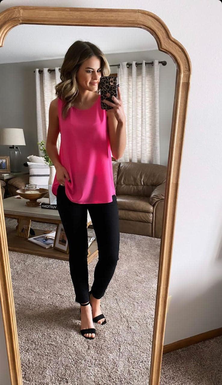 Olivia Pink Tank