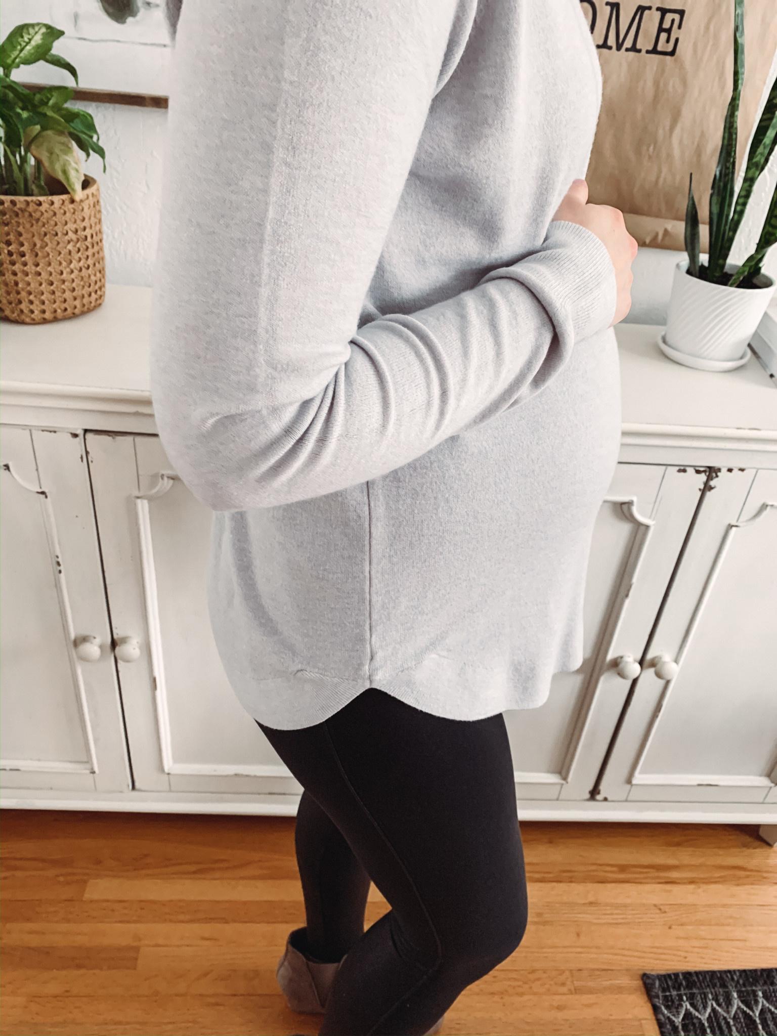 Callie Grey Sweater