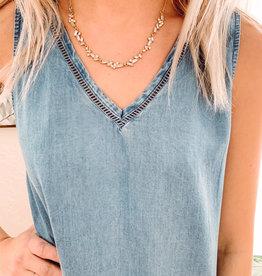 Emily Rhinestone Necklace