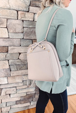 Leah Taupe Backpack