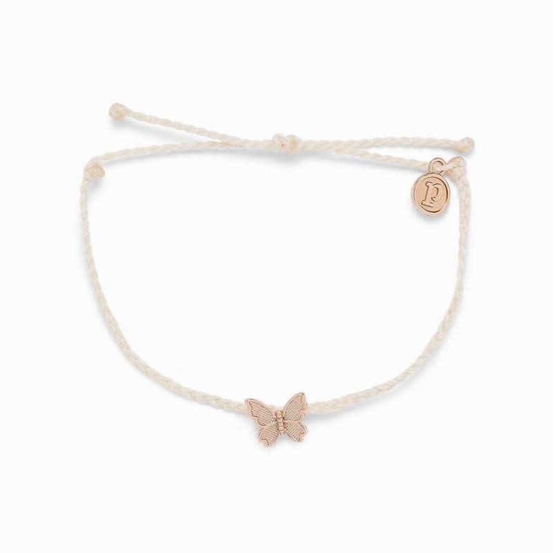 PuraVida Vanilla Butterfly in Flight Bracelet