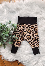 Tan Leopard Baby Joggers