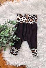 Reverse Light Leopard Baby Joggers