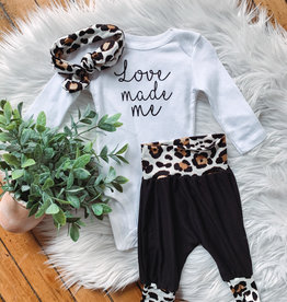 Love Made Me Onesie