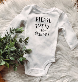 Grandma Long Sleeve Onesie