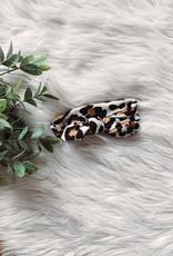Light Leopard Bow Headband