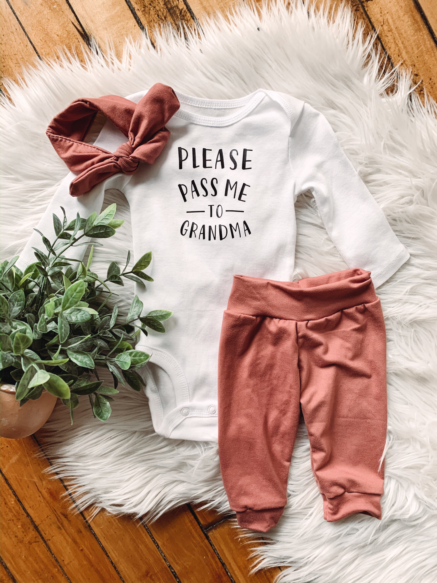 Mauve Baby Joggers