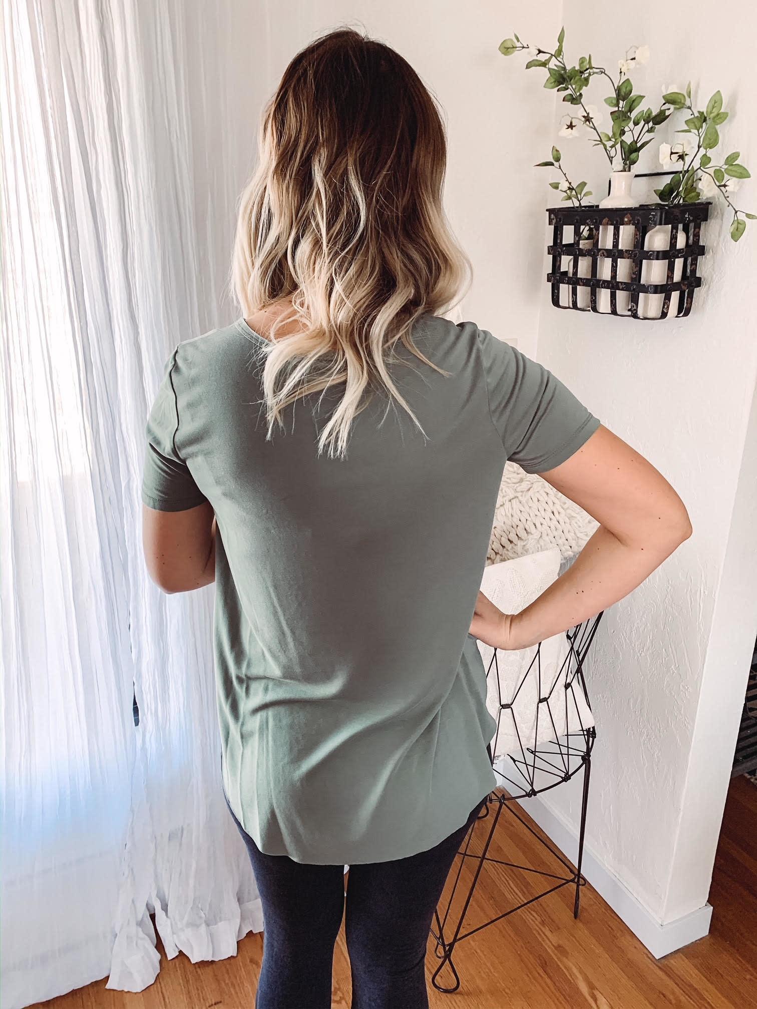 Sage Tunic Top