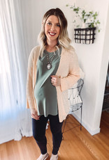 Nikki Blush Cardigan